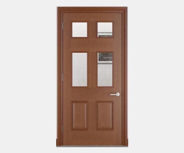 Shadbolt_Atkinson_veneered_panelled_doors_with_glazing_CC_American_Cherry