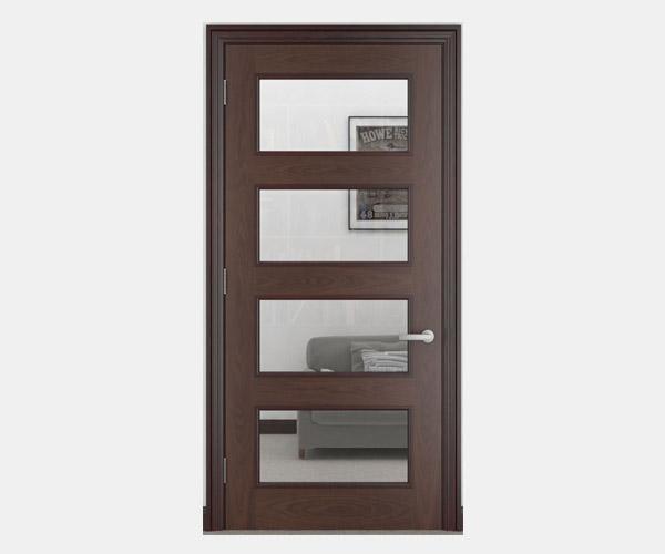 Shadbolt_Delamare_veneered_panelled_doors_with_glazing_CC_American_Black_Walnut