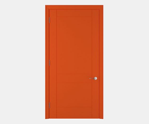 Shadbolt_Hatfield_lacquered_panelled_doors_Orange_RAL_2005