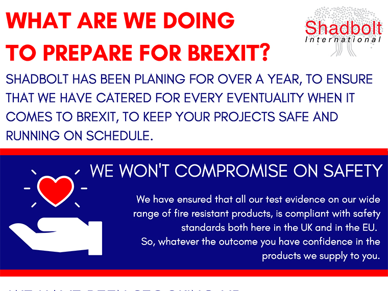 What are Shadbolt doing to prepare for Brexit?